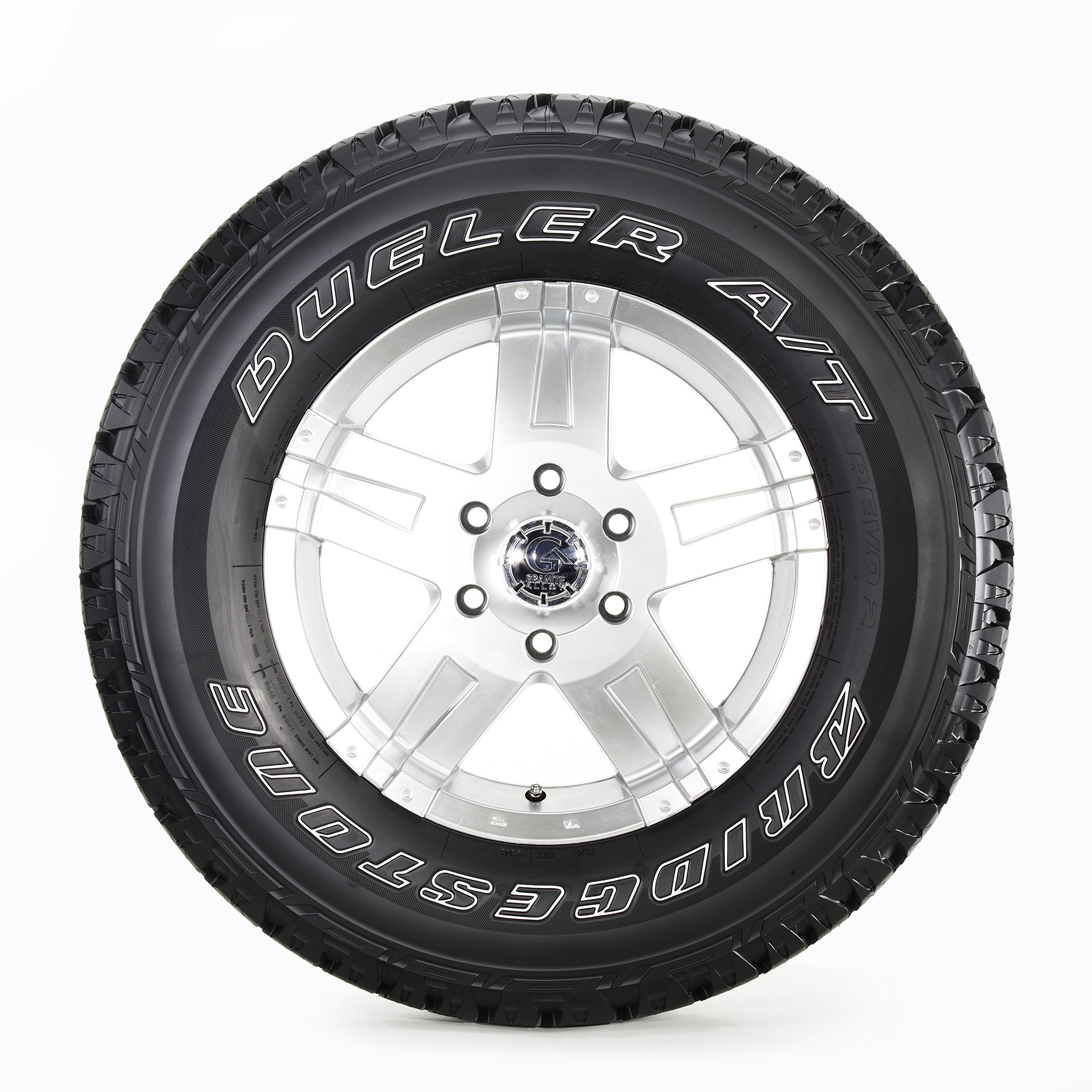 Bridgestone Dueler A/T REVO 2 All-Season Radial Tire - 275/65R18 114T by Bridgestone (Image #3)