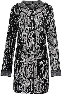 MONARI Damen Pullover mit Kapuze grau (13) 36: