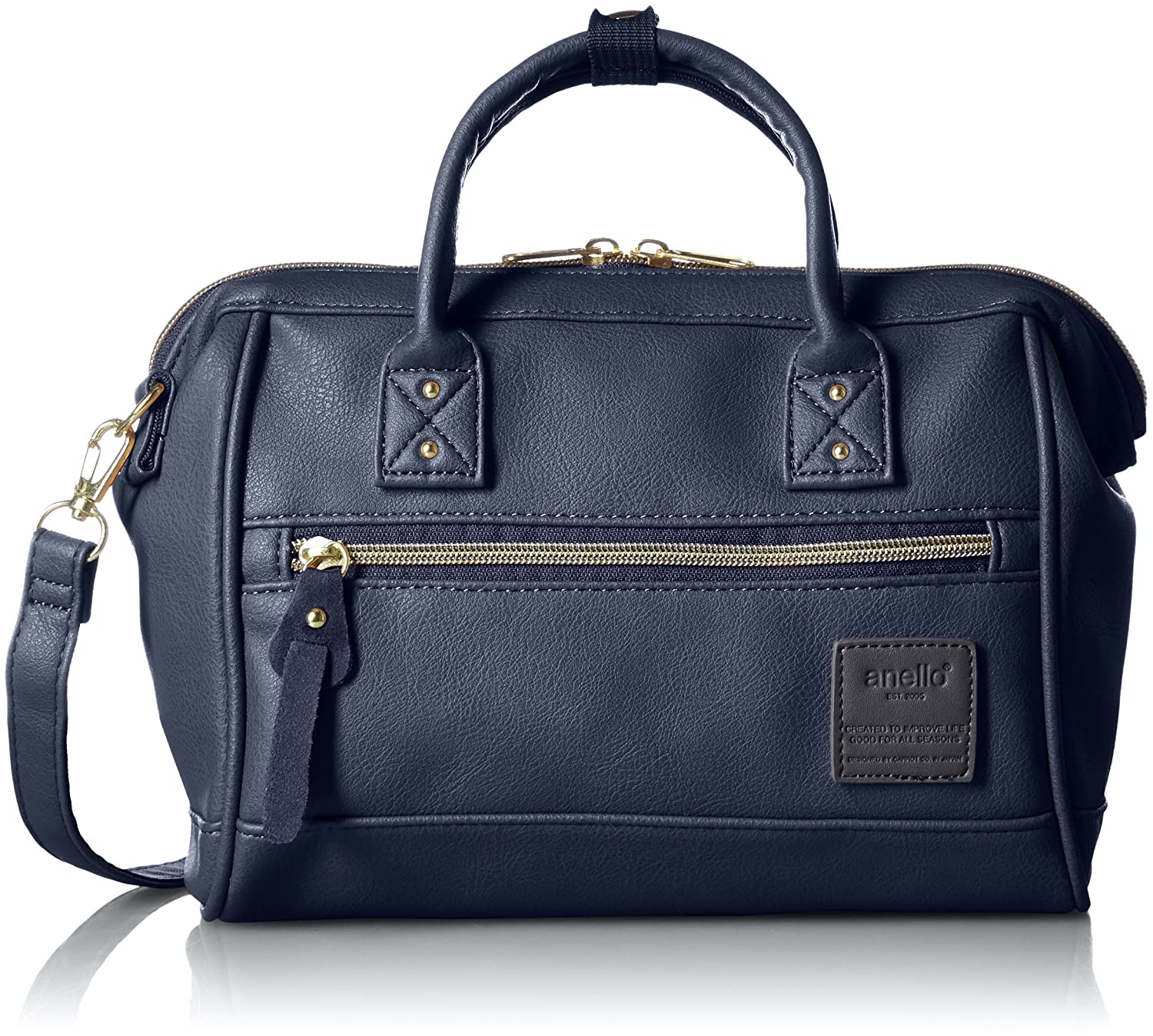 Cross-border:- Anello official AT-H1021 Boston Portable Messenger Bag – Small low price