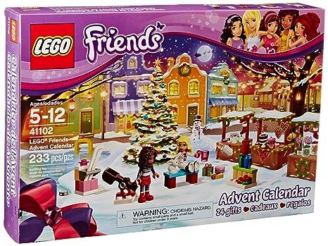 Amazoncom Lego Friends 41102 Advent Calendar Building Kit