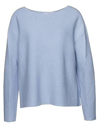 7149666f31ea Drykorn Pullover Melbi für Damen in Blau, L: Amazon.de: Bekleidung