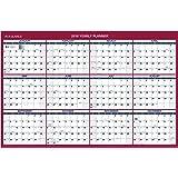 AT-A-GLANCE Wall Calendar 2016, Erasable, Vertical / Horizontal, 12 Months, Reversible, 36 x 24 Inch (PM2628)