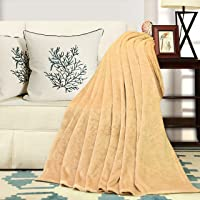 "Super Soft Warm and Cozy Anti-Static Fleece Throw Blanket 50""x 60"""