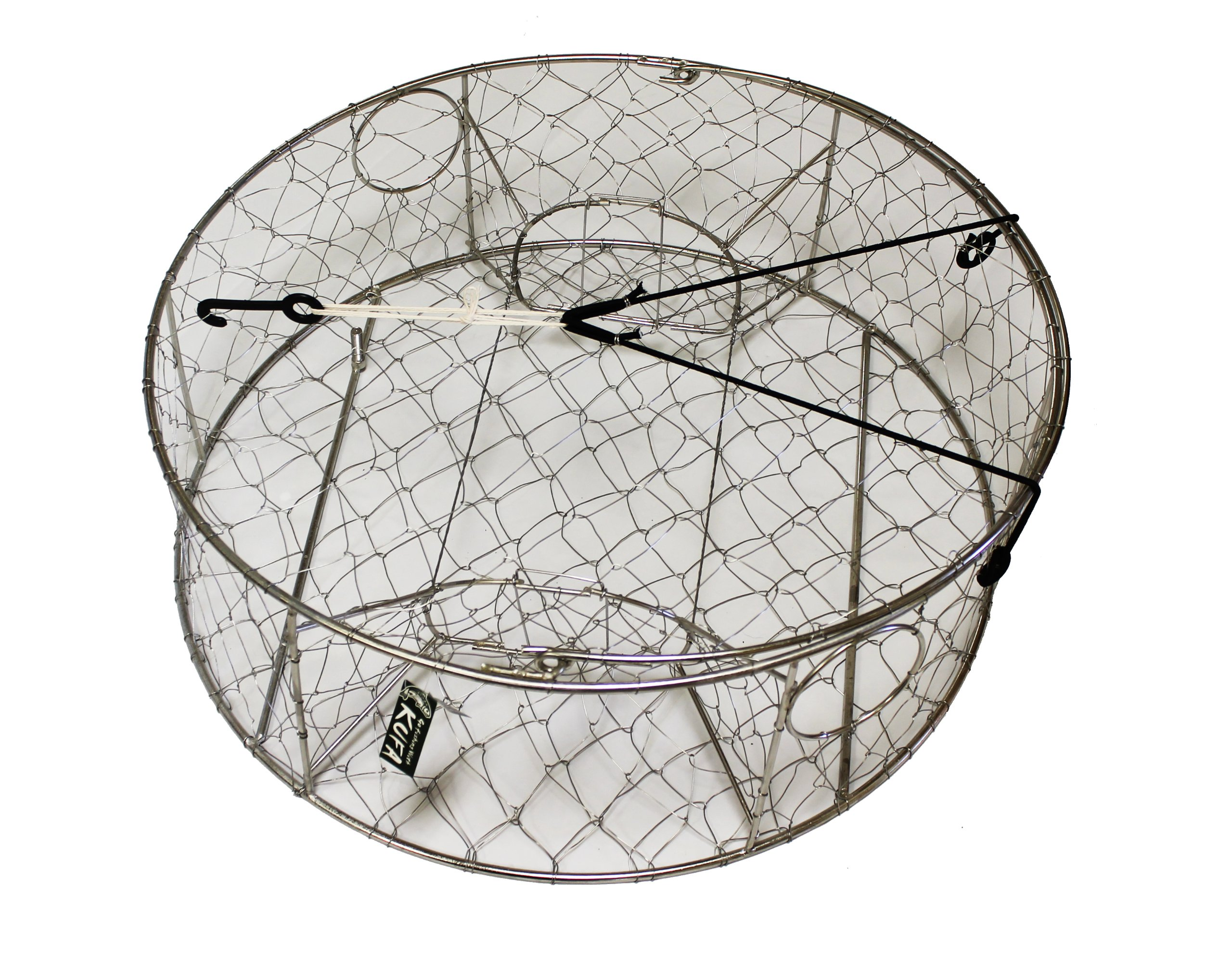 KUFA Stainless steel wire crab trap (ø30''x10'') CT100 by KUFA Sports