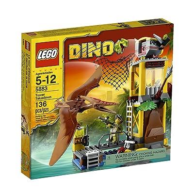 LEGO Dino Tower Takedown 5883: Toys & Games [5Bkhe1904322]