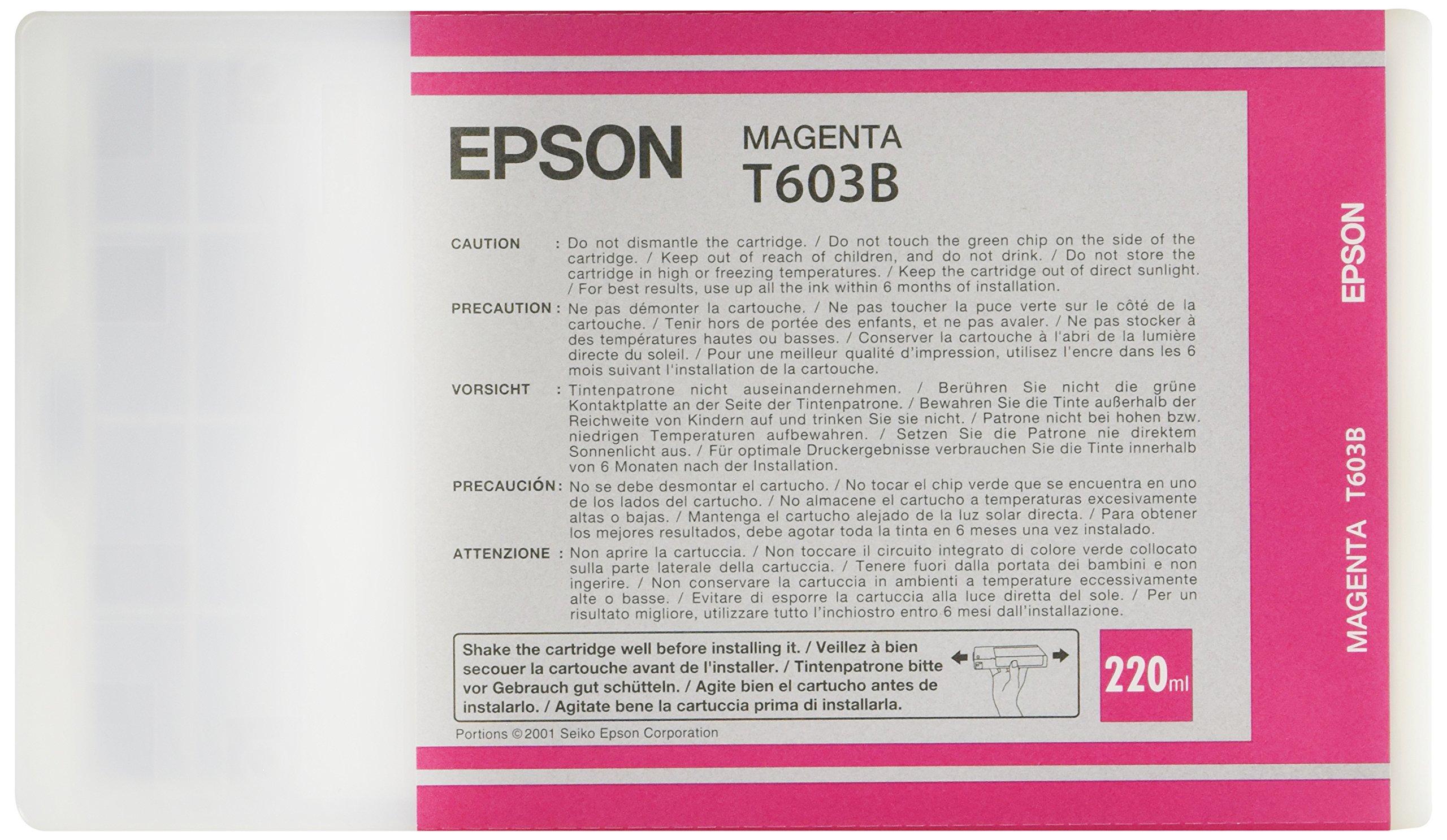 EPSON 7800 MAGENTA INK 1=1CRT