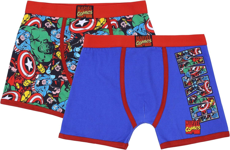 2 x Boxer en Couleurs Marvel Comics