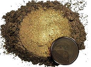 "Eye Candy Mica Powder Pigment ""Carob Brown"" (50g) Multipurpose DIY Arts and Crafts Additive | Woodworking, Epoxy, Resin, Natural Bath Bombs, Paint, Soap, Nail Polish, Lip Balm (Carob Brown, 50G)"