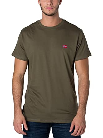 GEOGRAPHICAL NORWAY T-shirt manches courtes snht Kaki XL