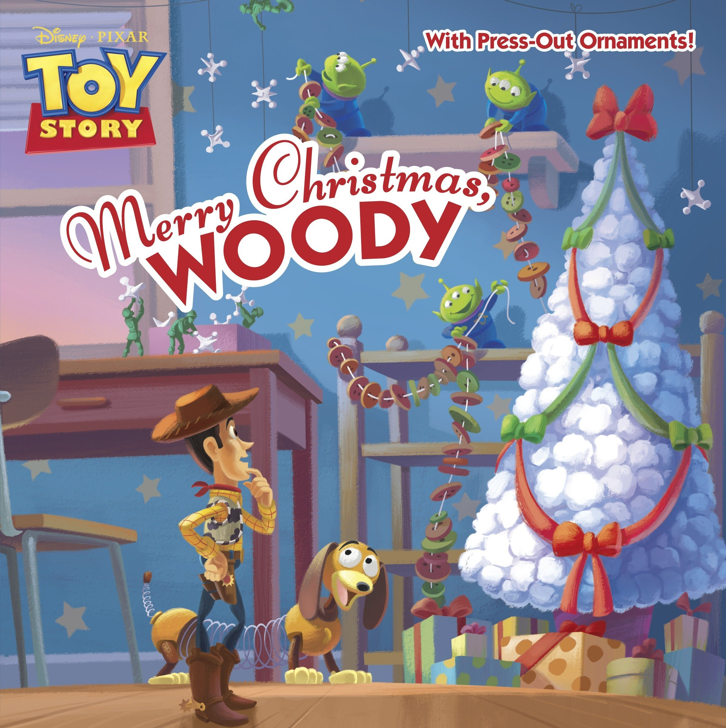 Story Of Christmas.Merry Christmas Woody Disney Pixar Toy Story Pictureback