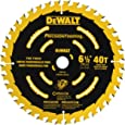 DEWALT DW9196 6-1/2-Inch 40T Cutting Precision Finishing Saw Blade