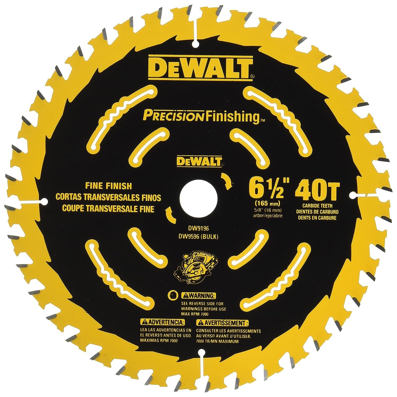 3. DEWALT DW9196 6.5 Inches Circular Saw Blade