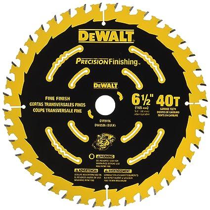 Dewalt dw9196 6 12 inch 40t cutting precision finishing saw blade dewalt dw9196 6 12 inch 40t cutting precision finishing saw blade keyboard keysfo Gallery