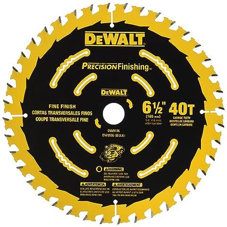 Dewalt dw9196 6 12 inch 40t cutting precision finishing saw blade dewalt dw9196 6 12 inch 40t cutting precision finishing saw blade greentooth Image collections