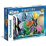 Clementoni - 24472-Puzzle super color maxi 24p Finding Nemo-Puzzles