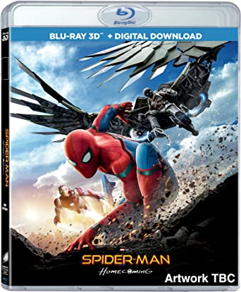 Spider Man Homecoming 2017 1080p 3D BluRay Half-SBS x264 DTS 5 1 MSubS - Hon3y