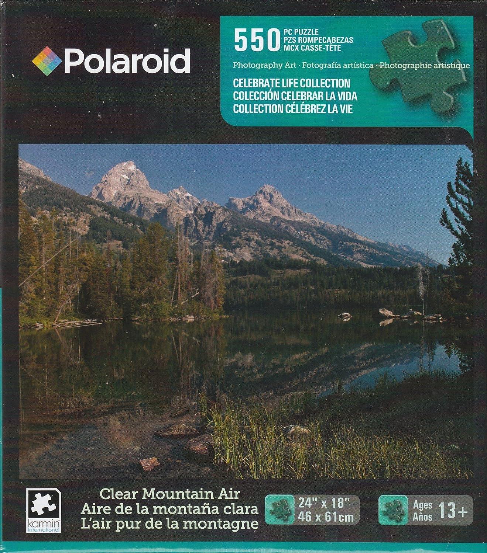 Clear Mountain Air 550 Piece Polaroid Puzzle George