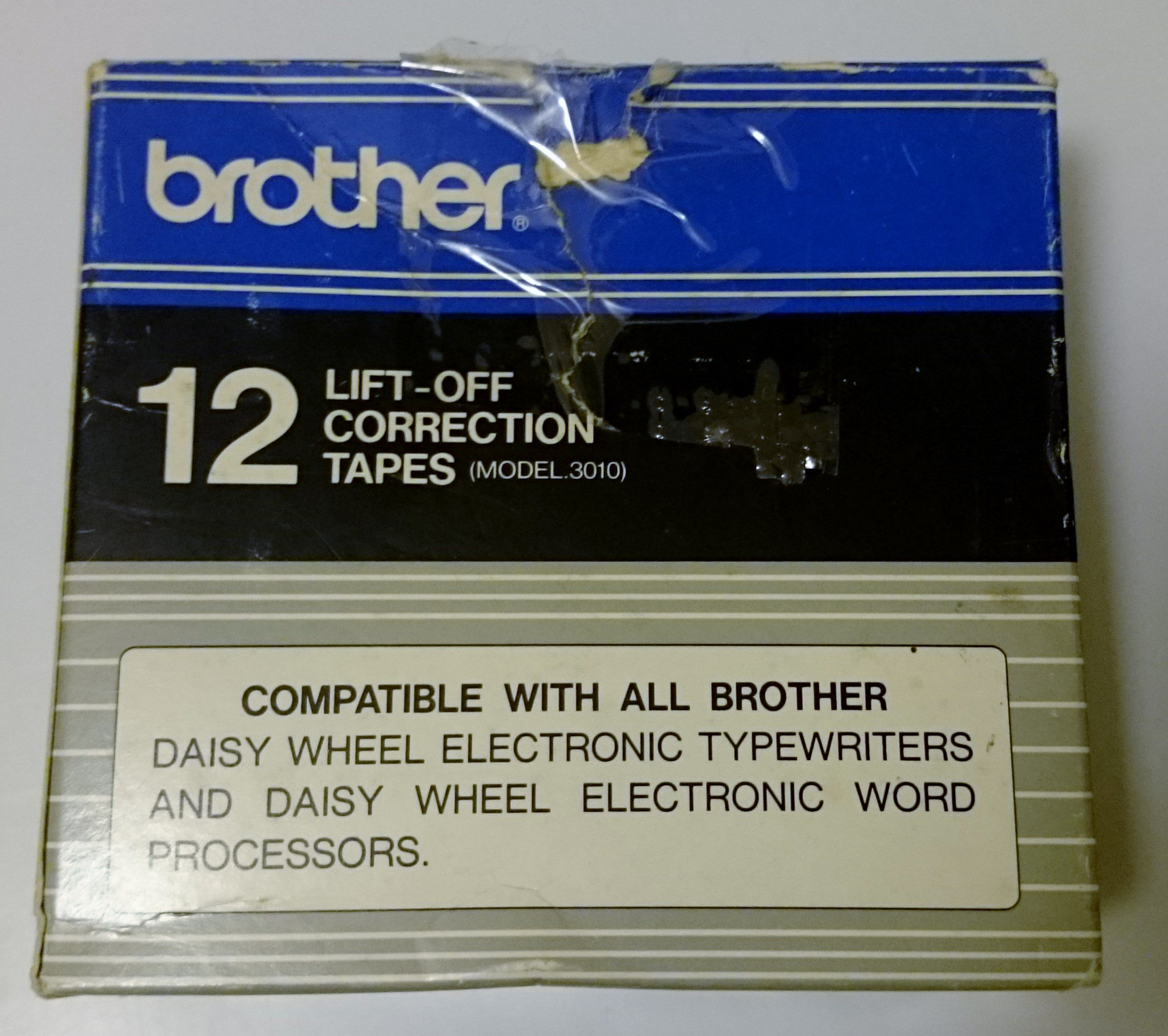 Brother Model 3010 Lift-Off Tapes, Pack Of 12 by Brother (Image #2)