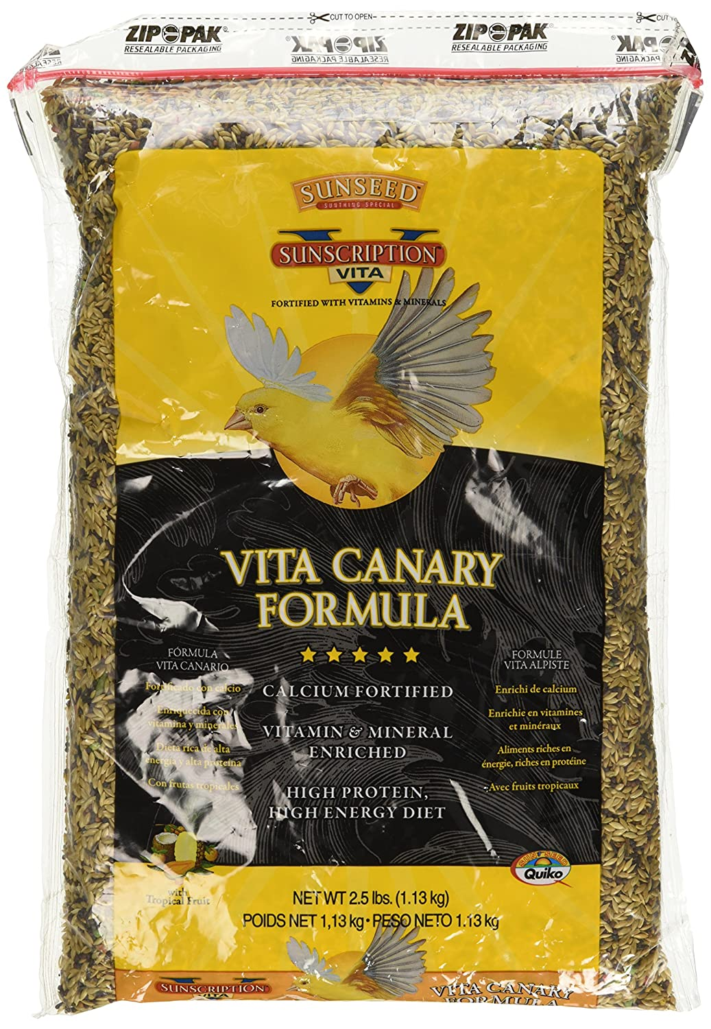 Amazon.com : Sun Seed Company Bss59012 6-Case Vita Mix Daily Diets Canary Food, 2.5-Pound : Pet Food : Pet Supplies