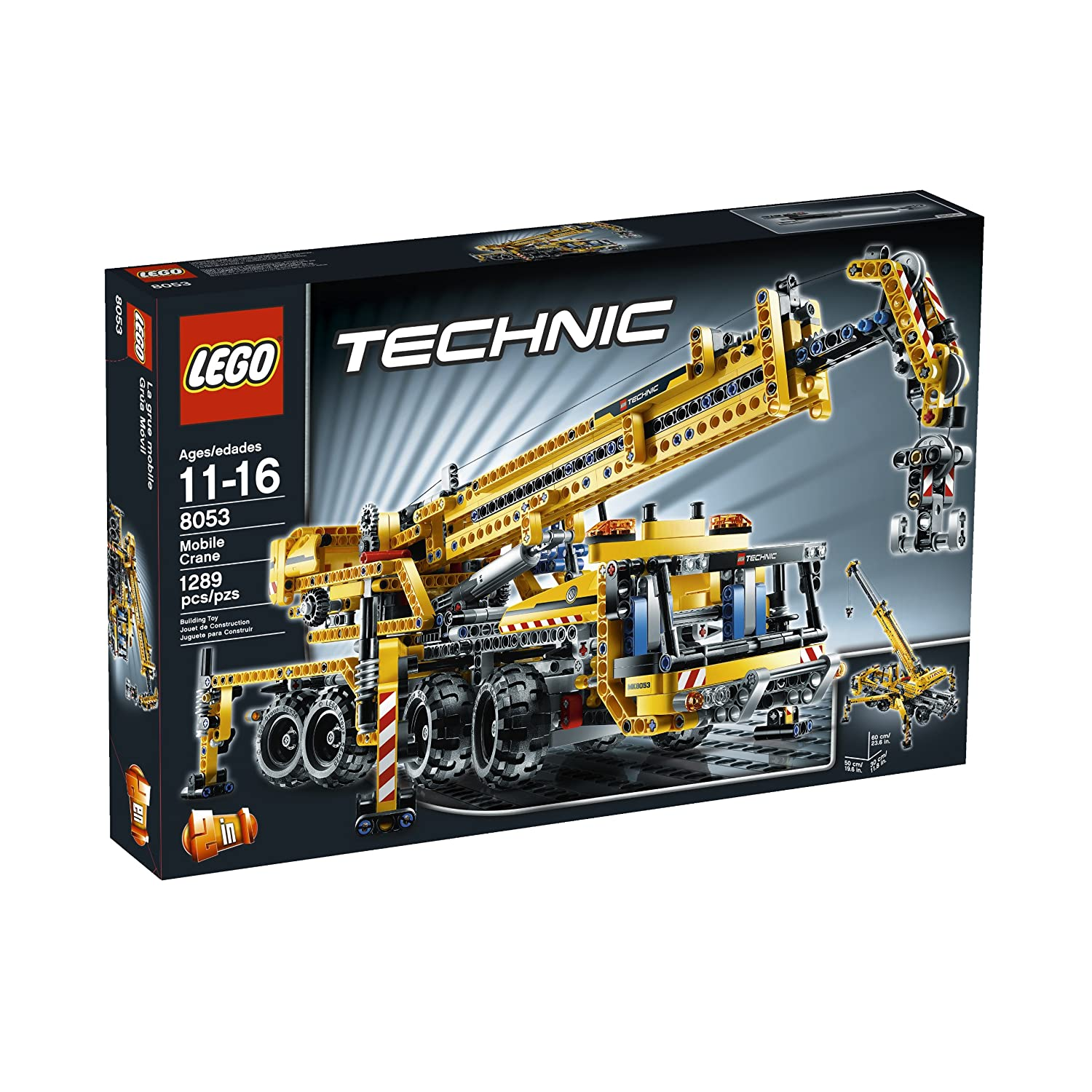 Amazon Lego Technic Mobile Crane 8053 Toys Games