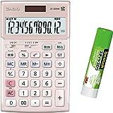 カシオ 本格実務電卓 JS-TK20P 特典付きセット 検算・税計算 ジャストタイプ 12桁