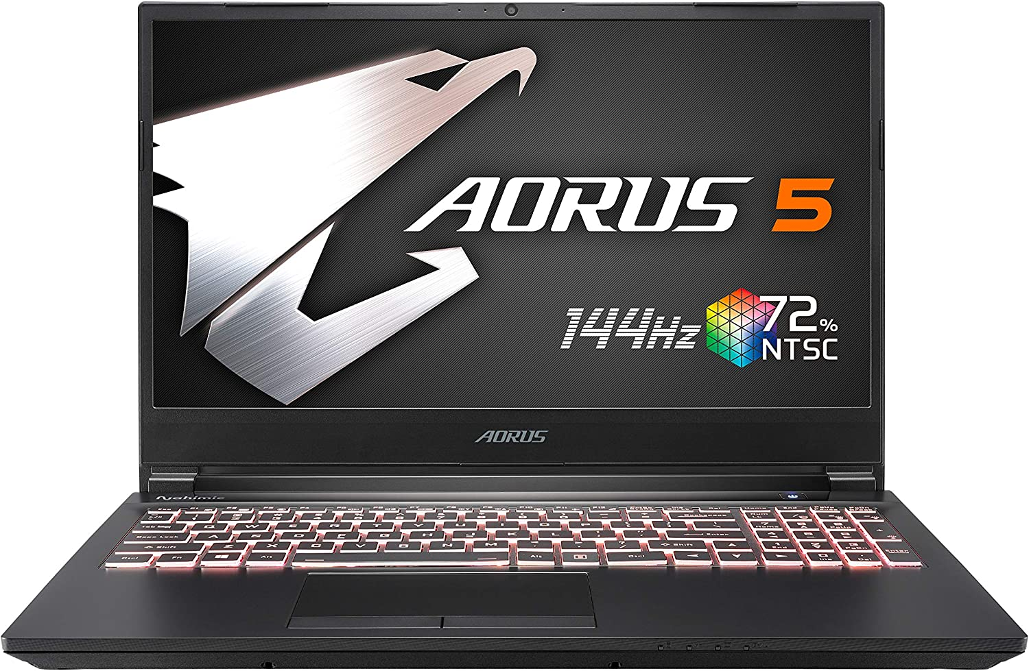 [2020] AORUS 5 (SB) Gaming Laptop, 15.6-inch FHD 144Hz IPS, GeForce GTX 1660 Ti, 10th Gen Intel i7-10750H, 16GB DDR4, 512GB NVMe SSD