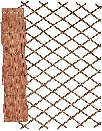 x1 WOODEN Trellis 5FT X 2FT Expanding Wood Garden Trellises 1.5m x 60cm Trellises Garden Fencing