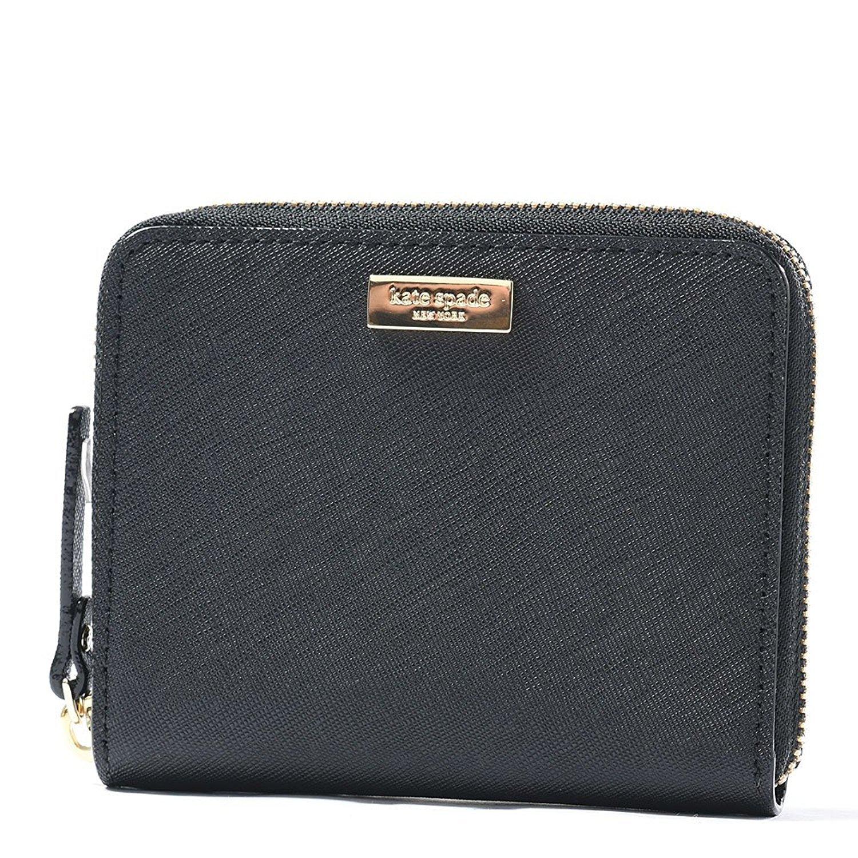 Kate Spade Darci Laurel Way Leather Zip Around Medium Wallet WLRU2909-001