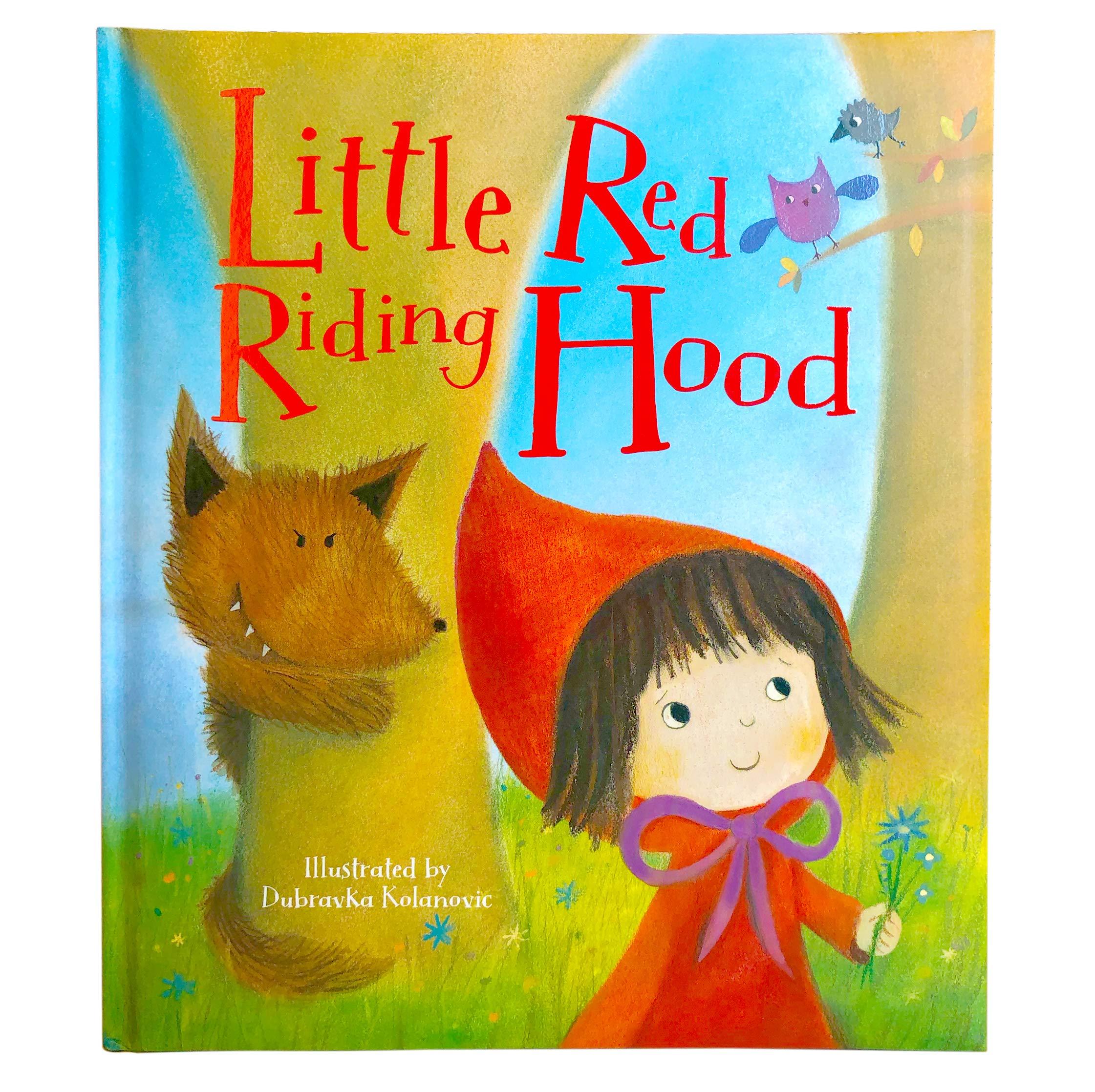 Amazon Com Little Red Riding Hood 9781680524482 Gaby Goldsack