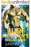 Alien Protector's Rescued Bride: A SciFi Alien Romance