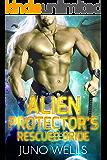 Alien Protector's Rescued Bride: A SciFi Alien Romance (Draconian Warriors Book 5)