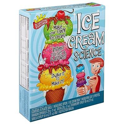 Scientific Explorer Ice Cream Science Kids Science Experiment Kit: Toys & Games