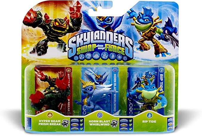 ACTIVISION Skylanders: Swap Force - Triple Pack E: Amazon.es: Videojuegos