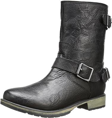 3 Buckle Motorcycle Boot