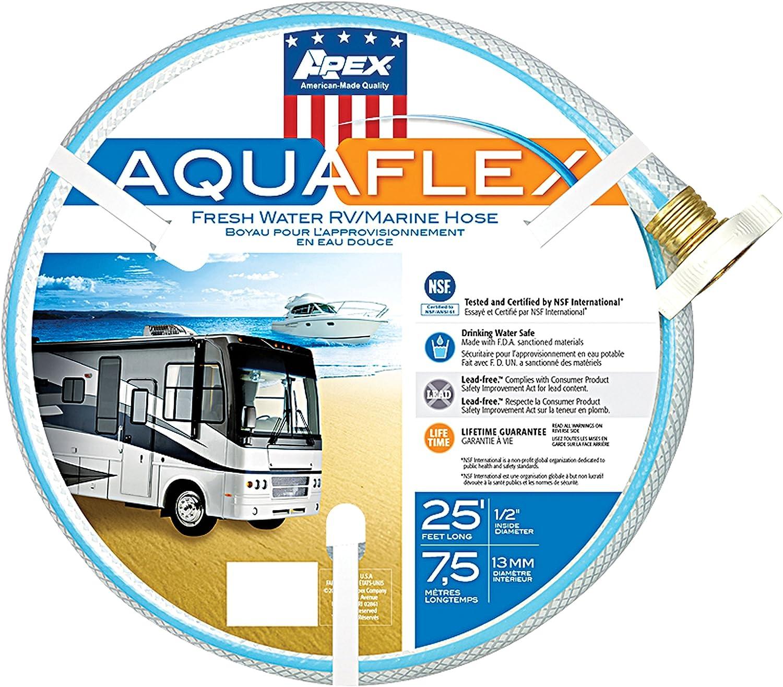 """Teknor Apex 7503-25 AquaFlex RV/Marine Hose - 1/2"""" x 25'"""
