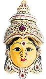Goddess Lakshmi Varalakshmi Vratam Face Set Idol stone decorated