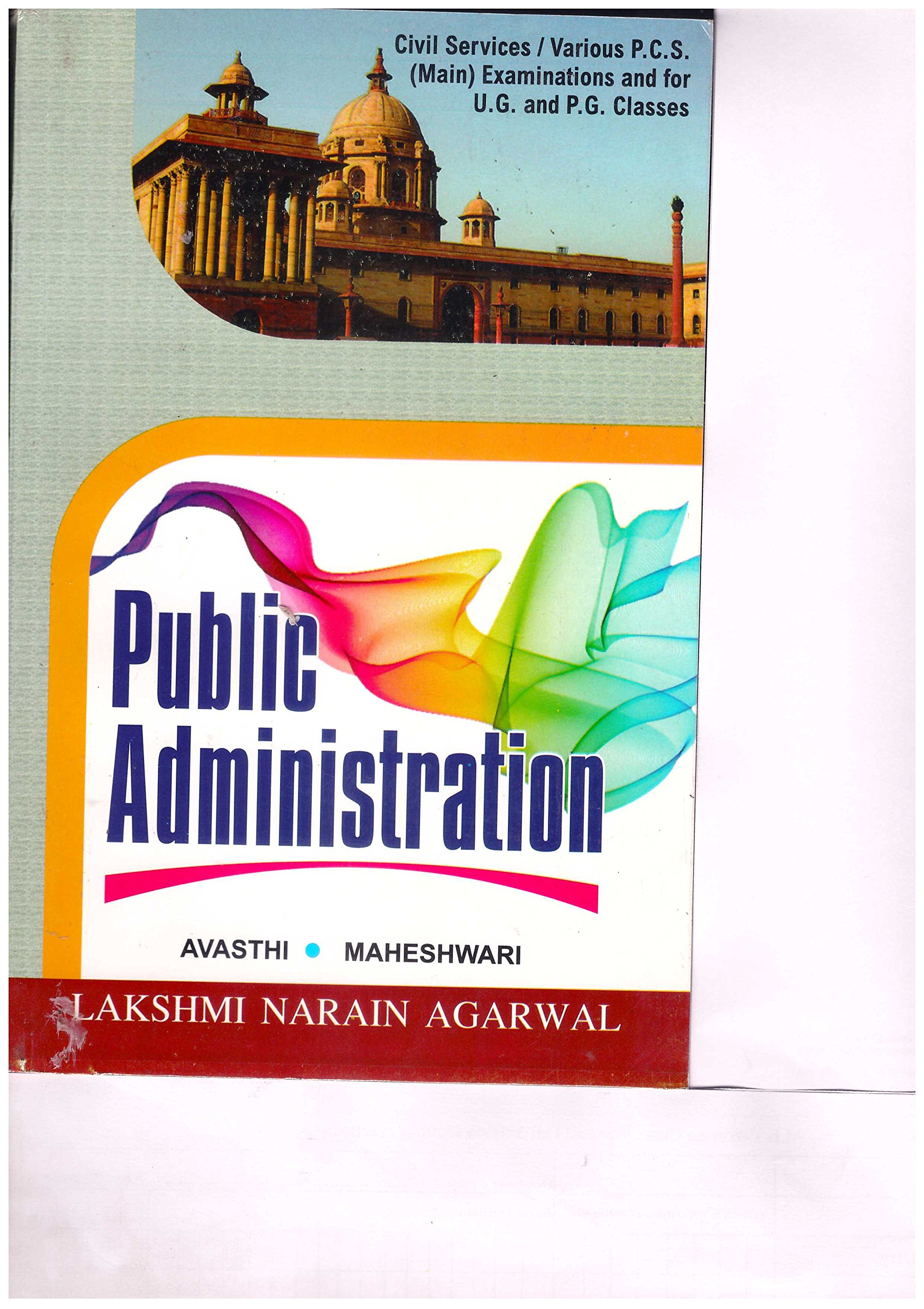 Amazon in: Buy Public Adminstration Book Online at Low