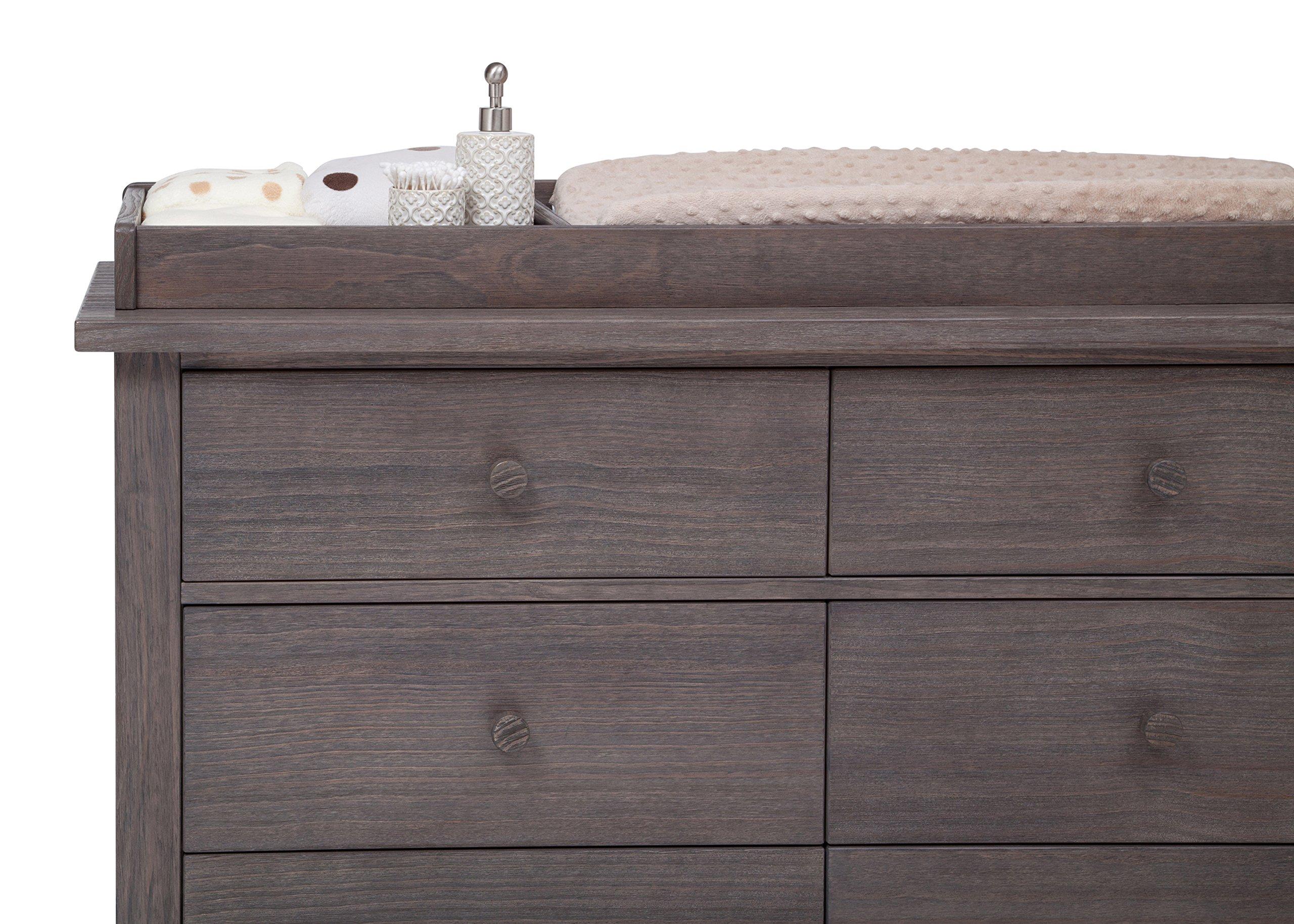 Serta Northbrook Changing Top, Rustic Grey by Serta (Image #3)