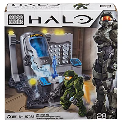 Mega Bloks Halo - UNSC Cryo Bay: Toys & Games