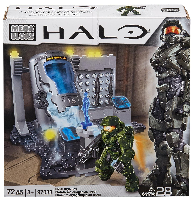 Montreal 97088 97088U/_ - Megabloks Mega Bloks Halo UNSC Cryo Bay Mega Brands America Inc