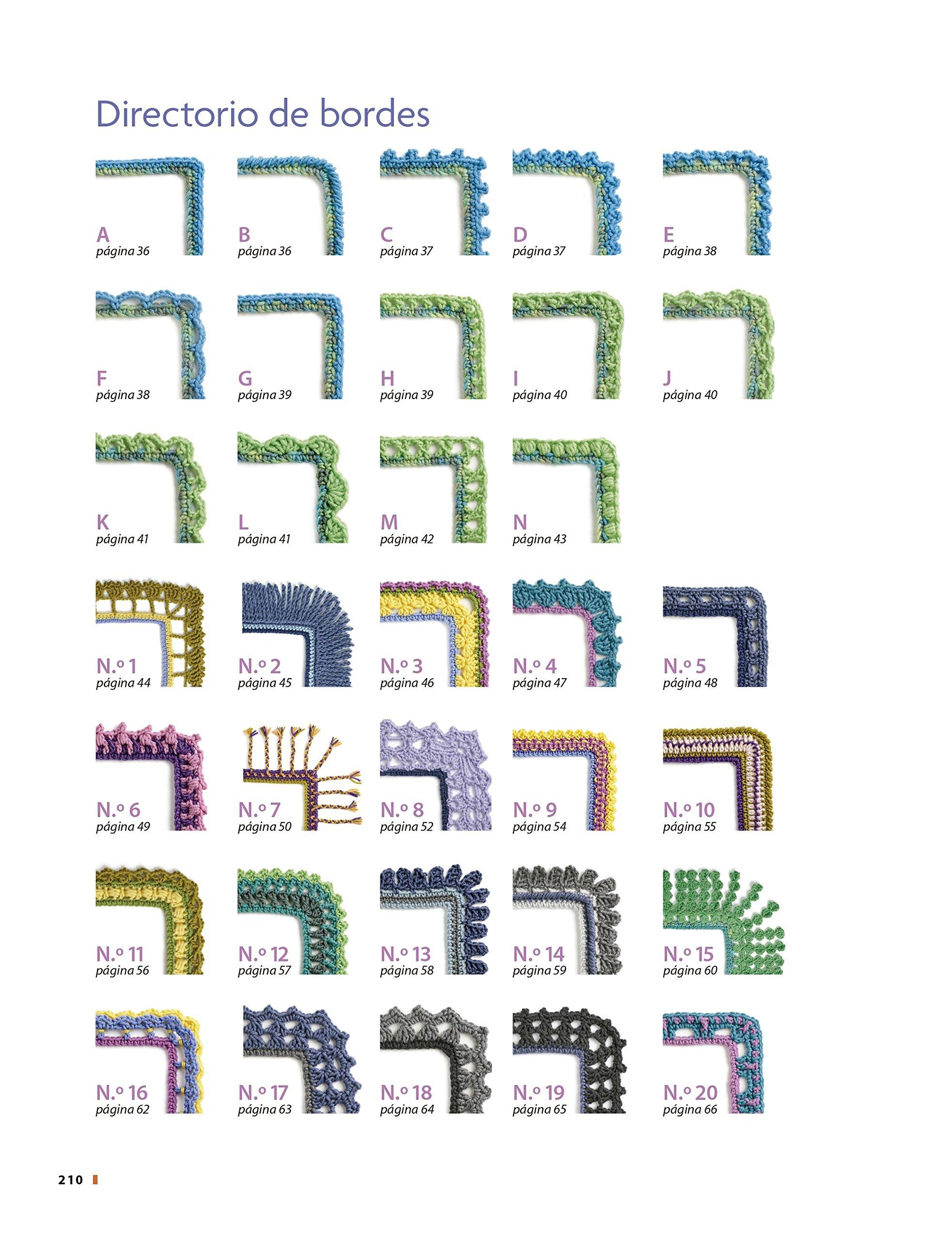 Nuevos diseños de bordes de ganchillo: Amazon.es: Edie Eckman: Libros