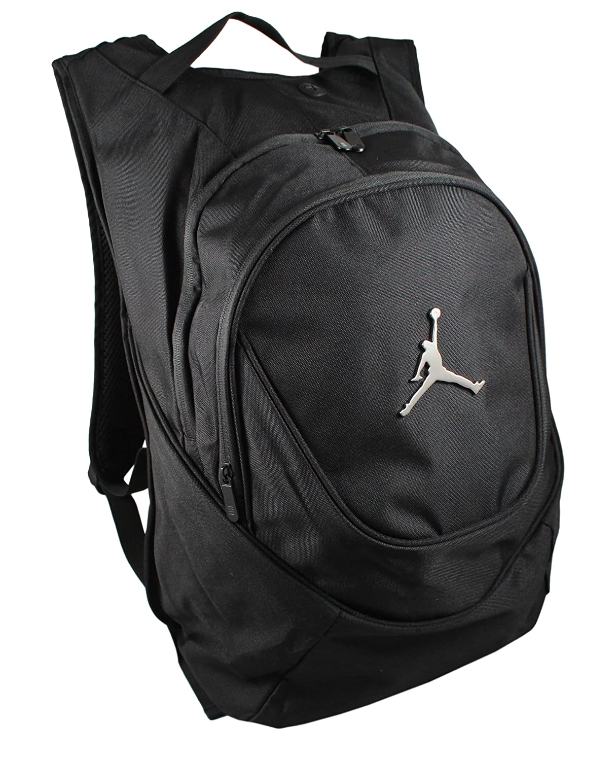 5b417da71e44 ... Amazon.com Nike Jordan Jumpman 23 Round Shell Style Backpack - Black  Sports Outdoors ...