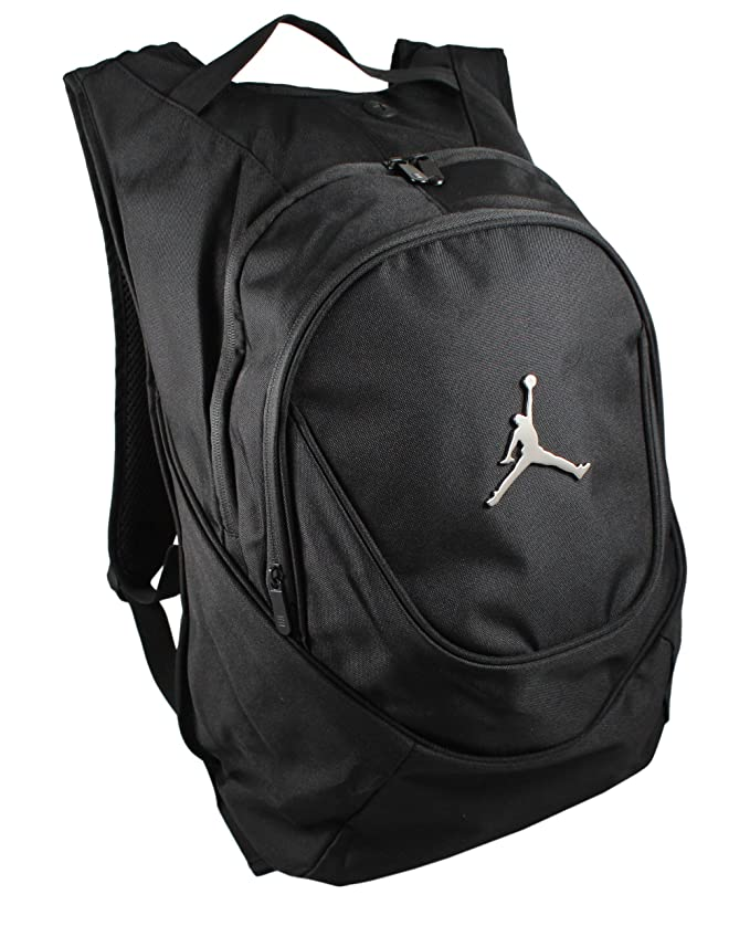 Amazon.com: Nike Jordan Jumpman 23 Round Shell Style Backpack - Black: Sports & Outdoors