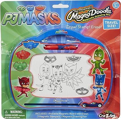 Cra-Z-Art PJ Masks Travel Magnadoodle Toy