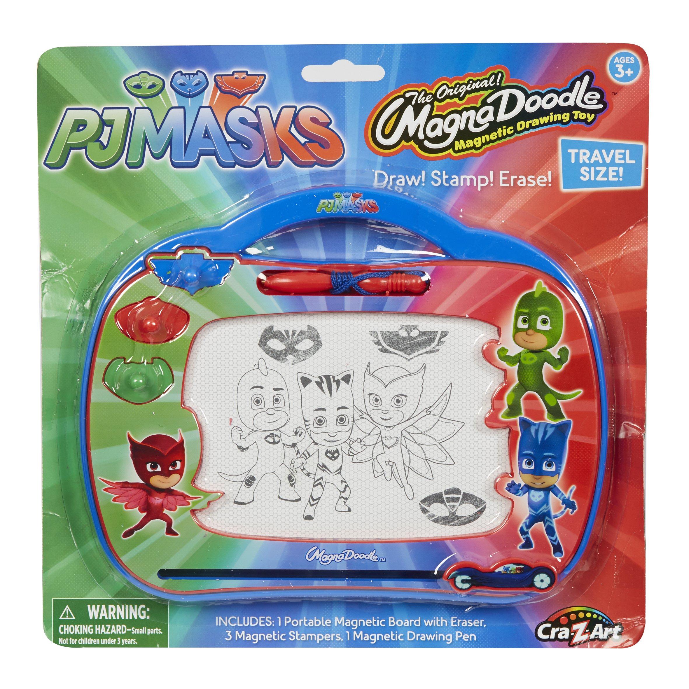 Cra-Z-Art PJ Masks Travel Magnadoodle Drawing-Tablet-Toys, red, Blue, Green