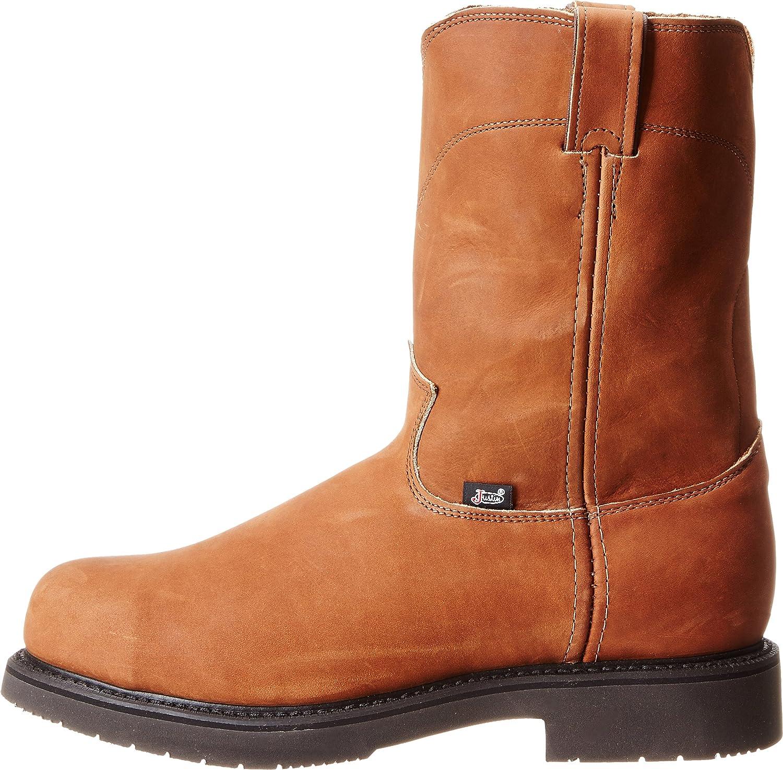 b34145f56d4 Amazon.com | Justin Original Work Men's Double Comfort Steel Toe ...