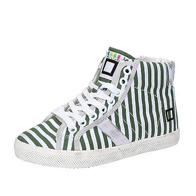 D.A.T.E. DATE Sneakers Fille 26 EU Multicolor Textile Cuir lPvjVklgD9