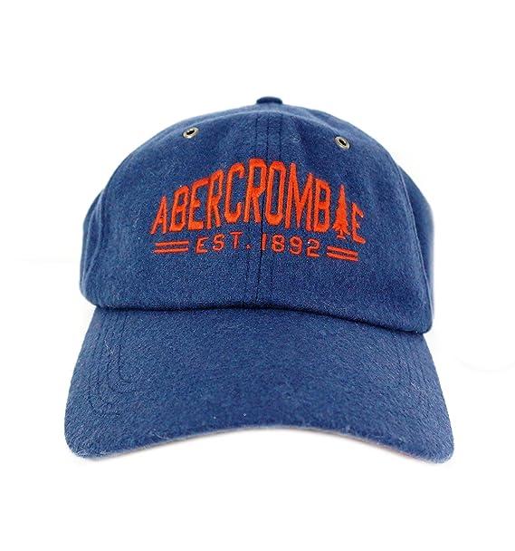 Abercrombie & Fitch - Gorra de béisbol - para hombre azul azul Talla única