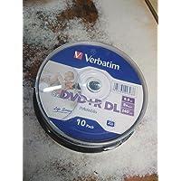 Verbatim DVD+R Inject Printable(8.5 gb Pack of 10)