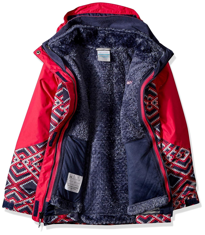 Columbia Girls/' Bugaboo II Fleece Interchange Jacket Thermal Reflective Warmth